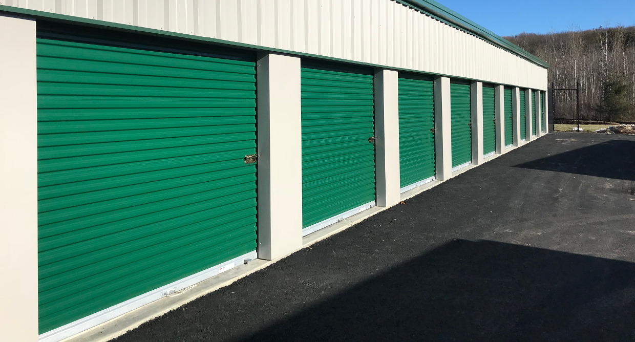 Secure Self Drive Up Storage Units Central Massachusetts